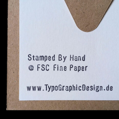 ORIGINAL PRINT_Folding-Card_Hand-Stamped_DDR-Bicycle_Back-Close-Up_by-Typo-Graphic-Design