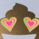 PRINT-Postcard-Riso-Golden-Poo-with-Neon-Heart_by-Typo-Graphic-Design_Close-Up