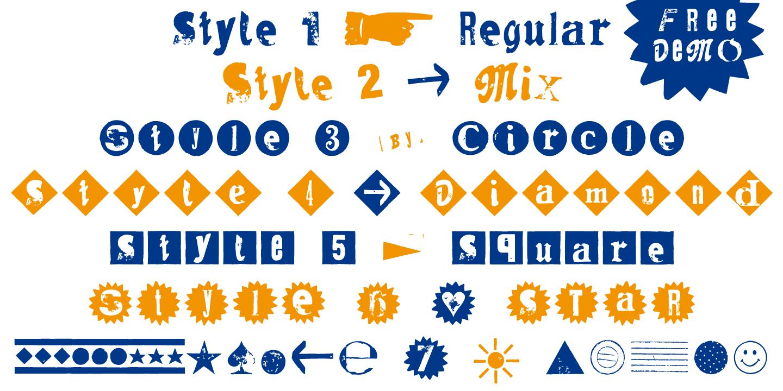 font-sample_Hand-Print-Stamp-Rough_Typo-Graphic-Design_2