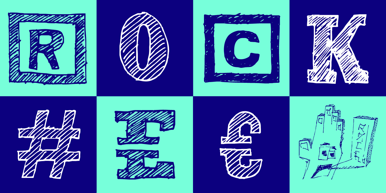 Hand-Scribble-Sketch-Rock_font-sample_type-specimen