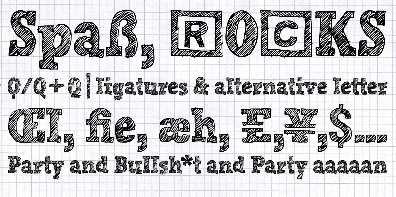Hand-Scribble-Sketch-Rock_font-sample_type-specimen_4