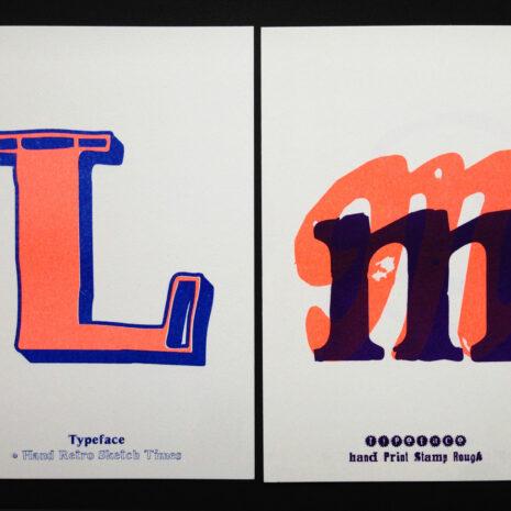 PRINT - Postcard - Riso - ABC Neon_by Typo Graphic Design__5653