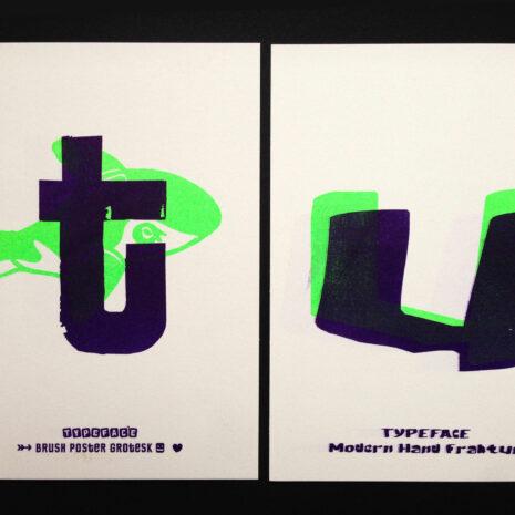 PRINT - Postcard - Riso - ABC Neon_by Typo Graphic Design__5660