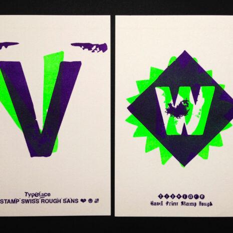 PRINT - Postcard - Riso - ABC Neon_by Typo Graphic Design__5661