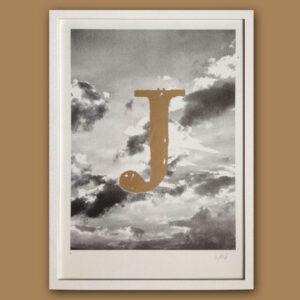 Typo Photo Poster | J Times | Riso Print