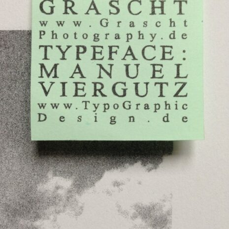 Typo Photo Poster_J Times_Riso Print_by Typo Graphic Design_Close Up_4