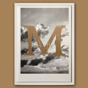 Typo Photo Poster_M Times_Riso Print_by_Typo Graphic Design