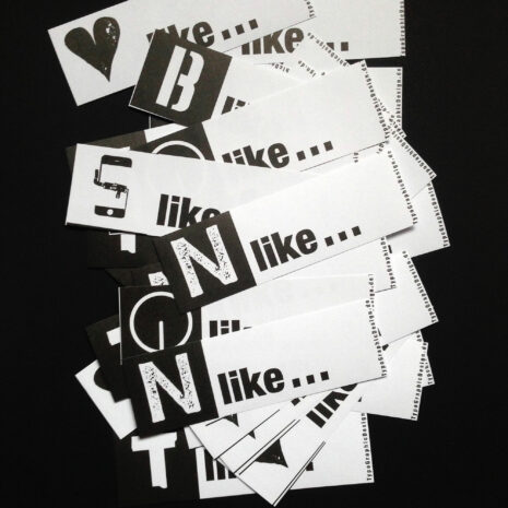 Sticker Set_Typo_Letter like_Black White_by TypoGraphicDesign_5868