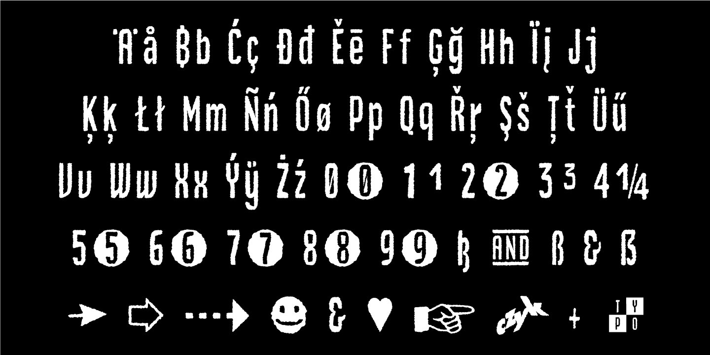 font-sample_Czykago-Rough_by_Typo-Graphic-Design_7