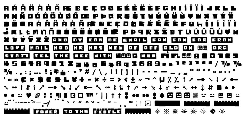 Kloetzchen_font-sample_8