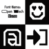 Typo-Graphic-Design_Type-Specimen-2020__6 Sheets Flyer_98x98mm_5