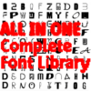 ALL FONTS IN ONE   Complete Font Library   All Typefaces from the Typo Graphic Design font foundry_2